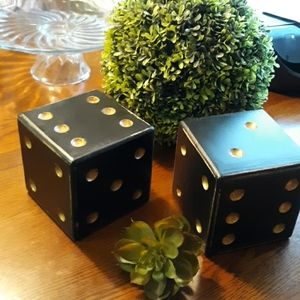 Decorative Wooden Roll the Dice